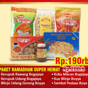Paket Ramadhan Super Hemat 200-190
