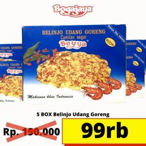 Blinjo udang goreng 5 pcs 150-99