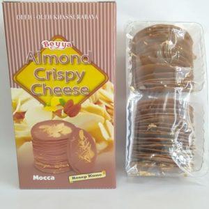 Almond crispy matcha r