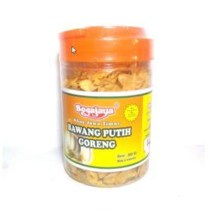 Bawang Putih Goreng 300 gram Bogajaya